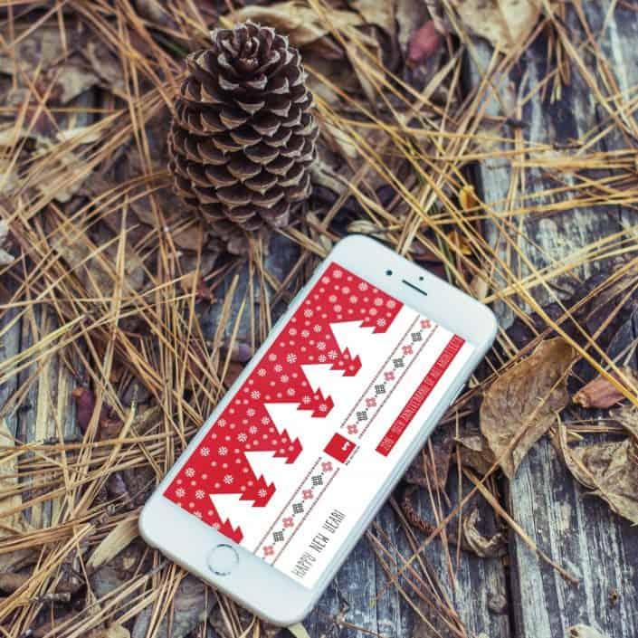 Felicitari de Craciun care spun o poveste, Merry Christmas