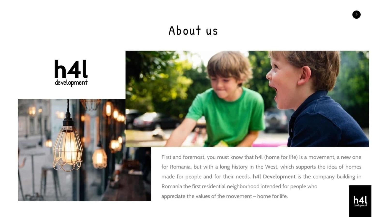Toud, H4L, prezentare, design, brosura, West Garden